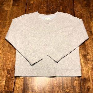 Cozy!! Lou & Grey Cropped Sweatshirt Women's sz M
